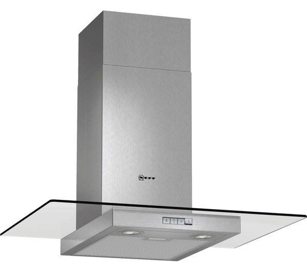 NEFF D87ER22N0B Chimney Cooker Hood - Stainless Steel, Stainless Steel: With the Neff D87ER22N0B Chimney Cooker… #Electrical #HomeAppliances