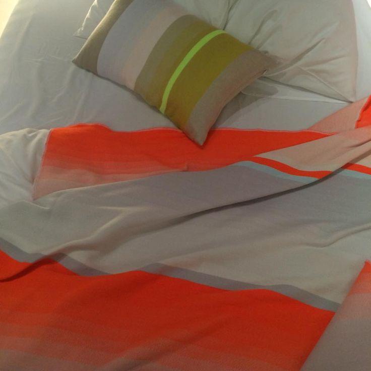 Nieuwe kleurstellingen door Scholten & Baijings voor Hay, ontwikkeld in het TextielLab | TextielMuseum #vanTilburgnaarMilaan