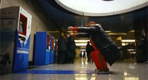 To generate buzz for the Olympics, this guerrilla marketing stunt made you squat for a free subway ride. By passerby's doing 30 squats, they were able to get a free subway voucher.