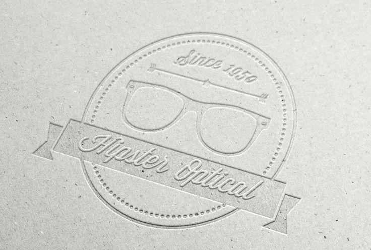 création de logo pour opticien, graphiste Marseille