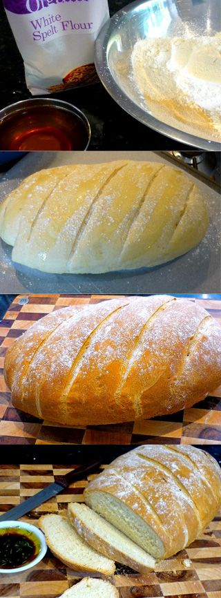 Spelt Bread - this one looks delicious...making this weekend