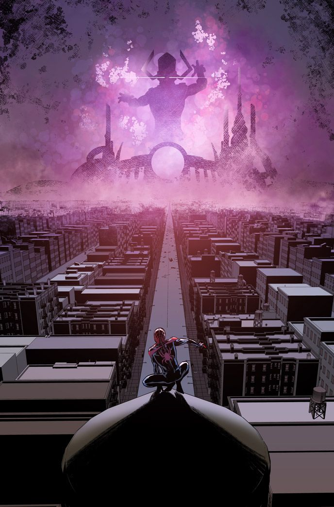Spider-Man vs Galactus - OOHHH I WANNA SEE THIS HAPPEN