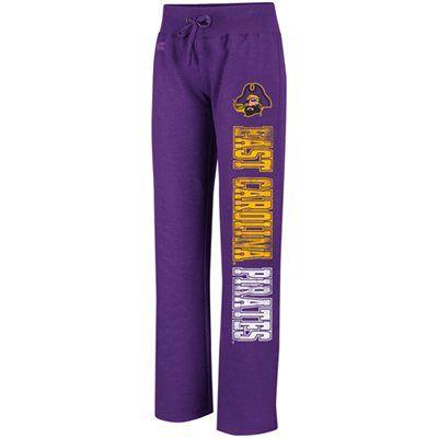 ECU Pirates Ladies Chestnut Sweatpants - Purple