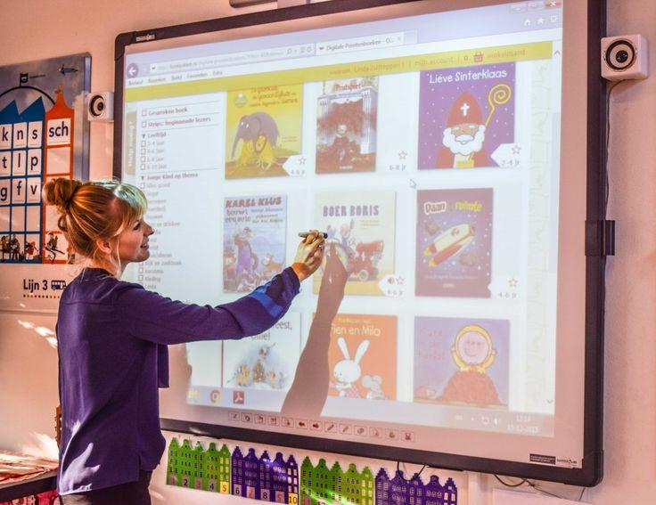 Digitale prentenboeken via Digiboeks | Klas van juf Linda