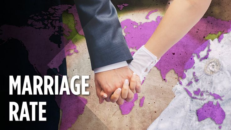 Which Countries Have The Highest Marriage Rates?