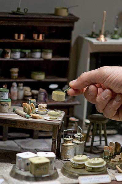 Paul & Janet Brownhill of Country Treasures create rustic kitchenware - Kensington 2010