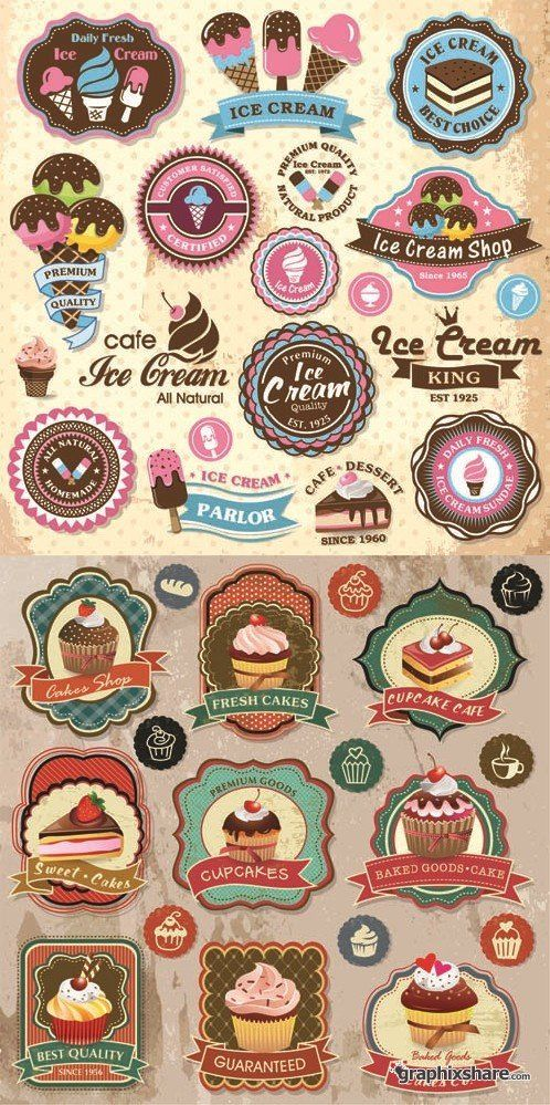 Logos / Vintage glaces