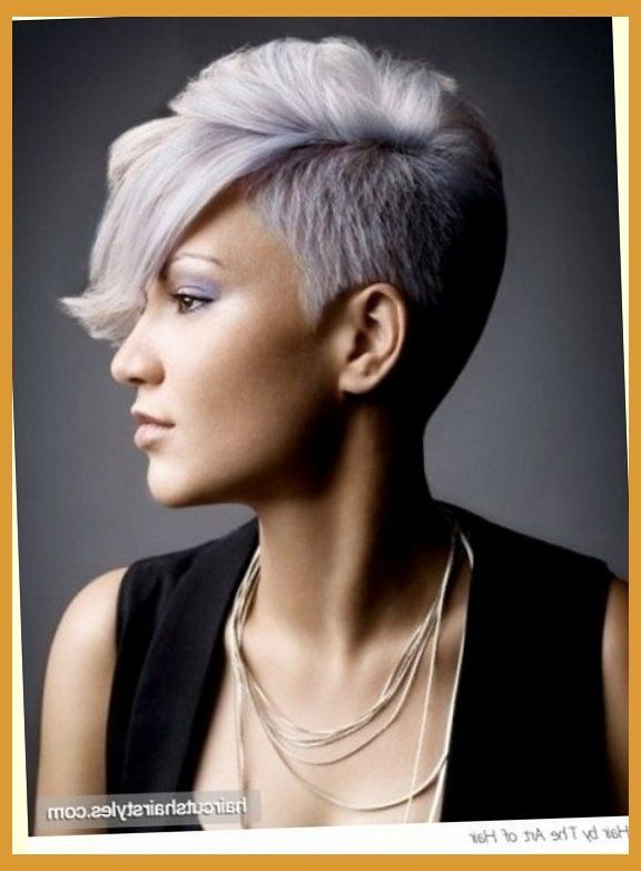 Short Shaved Hairstyles For Women in Womens Hairstyles Shaved Sides