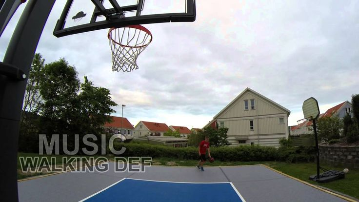 Basket on Bergo Multisport Floor Joel Rosengren Eklanda 2014 Basketball