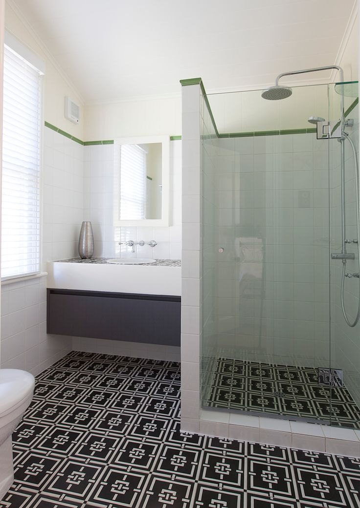 Contemporary Bathroom Tiles Queensland White Industrial And