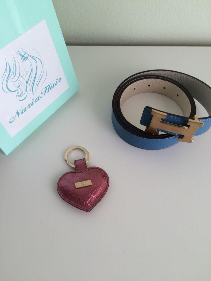 Hermes belt ✨ Gucci Heart ✨ Nariahair ✨