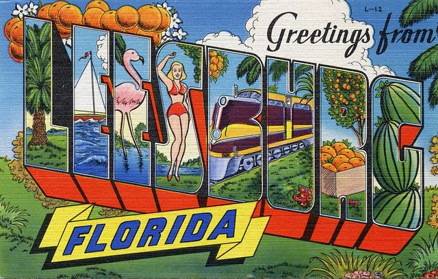 Leesburg, Florida: Leesburg Fl, Greetings, Photo