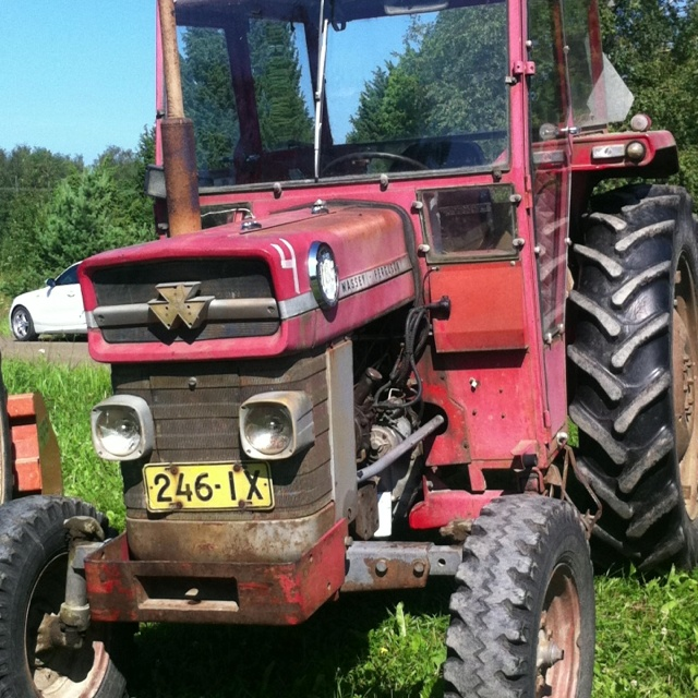 1958 Ferguson Tractor Attachments : Best images about massey harris on pinterest