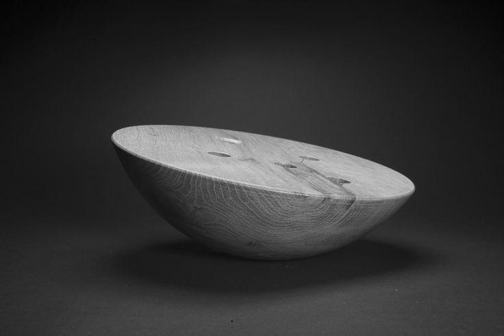 Forêt Étrange_solid oak flower vase_wood design | by Kaptura de Aer.  Photo (c) Florin Ghenade