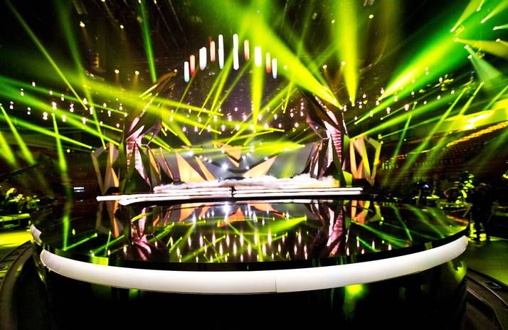 Eurovision 2013 stage at Malmö Arena looks stunning!