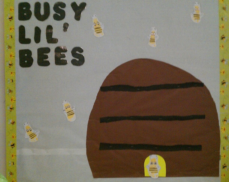 June Classroom Ideas : June bulletin board bees are the kids footprints