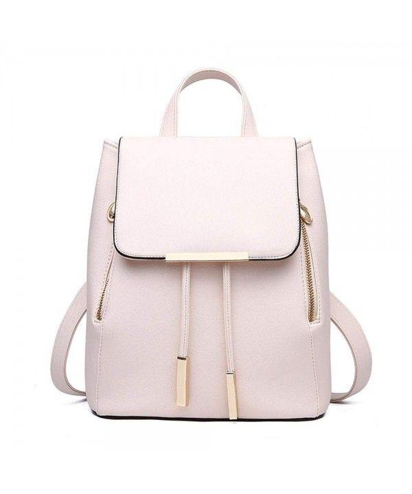 Fashion Women Backpacks PU Leather School Backpacks for Teenage Girls Shoulder Bag Female Daypack for Women