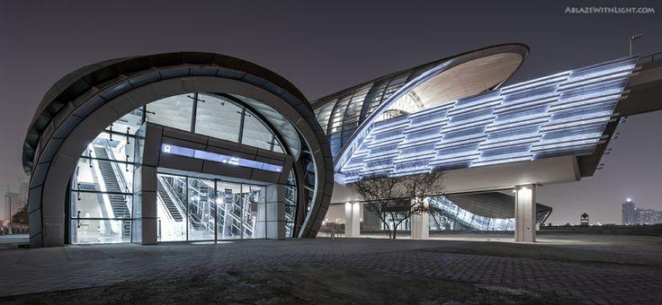 Metro Station- EAU | Dubai - SkyscraperCity