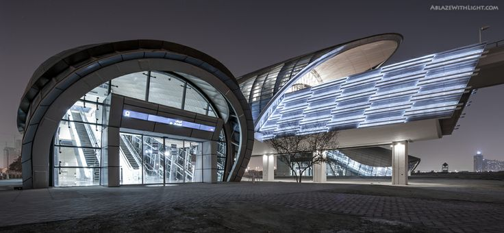 Metro Station- EAU   Dubai - SkyscraperCity