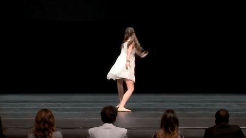 """Dance Moms // 2016 S6, E18: """"One Last Dance"""" Soloist: Maddie Ziegler Solo: The Hostage // I made this gif ♥ //"""