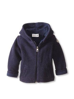 41% OFF Moncler Kid's Knit Coat (Blue Marine)