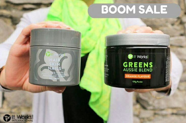 TODAY ONLY!!  Couldn't get enough of our last BOOM Sale? Missed our last BOOM sale?   Well we're back with more!   Starting NOW until 12:59 AEDT today, get your FREE Hair Skin Nails when you purchase a tub of Greens Orange!   We're taking #Wraptober to a #WholeNothaLevel!