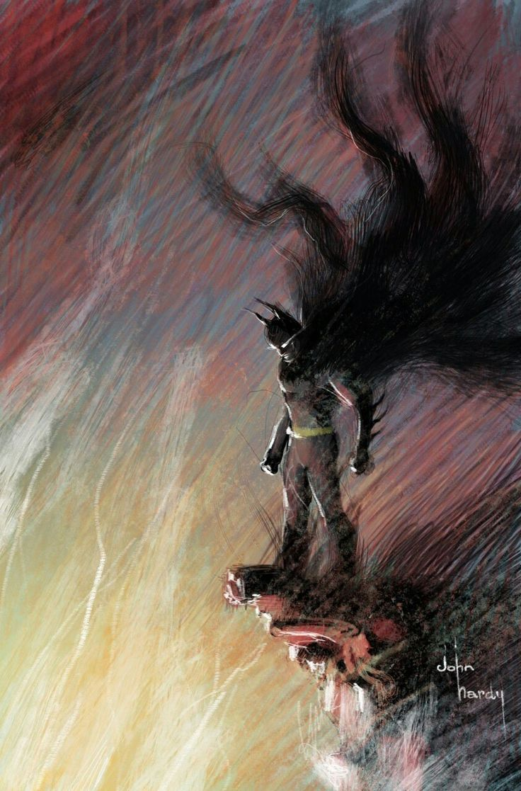 Batman by John Hardy