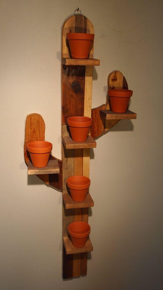 """Cactus"" plant holder"