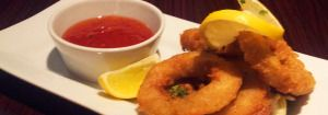 A lovely Starter of Calamari from The Lounge at Whitstable Kent.