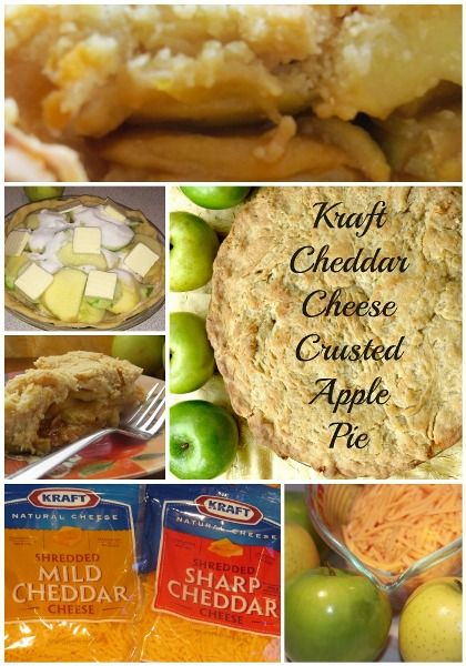 Apple Pie with Cheddar Cheese Crust Recipe http://madamedeals.com/apple-pie-with-cheddar-cheese-crust-recipe/ #inspireothers #recipes