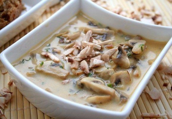 Cum facem cea mai bună ciulama de pui cu ciuperci. Reţeta delicioasă a lui Bogdan Roman, sibianul care a făcut senzaţie la Masterchef   Click! Pofta Buna!