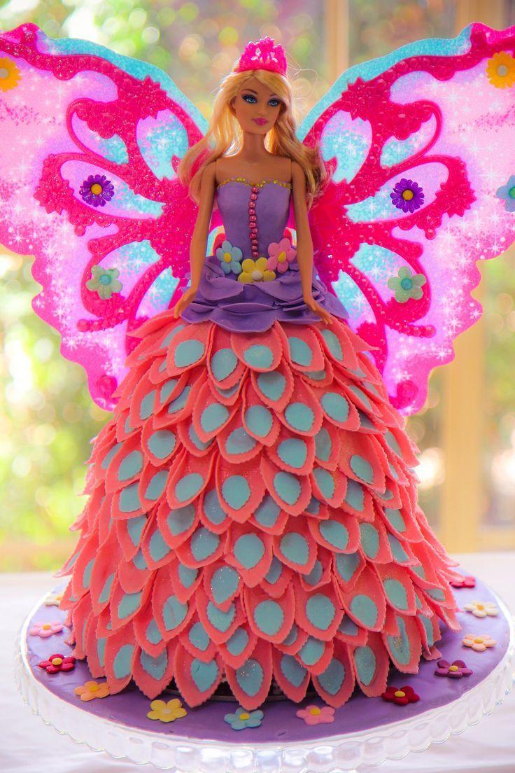 Barbie Cake Ideas   Barbie Cake Designs   Barbie Cake   Barbie Gown Cake   Ken   Birthday Party   Birthday Cake for Girls   Barbie Princess Cake   Barbie Doll Cake   Barbie Doll Theme Cake   Repinned by @purplevelvetpro   www.purplevelvetproject.com