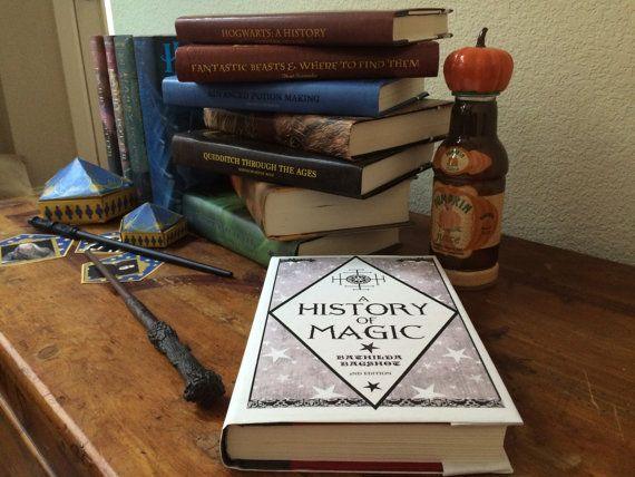 Harry Potter Book Cover Maker ~ Make your books a little more magical with this harry