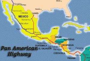 Driving to Costa Rica - Pan American Highway |