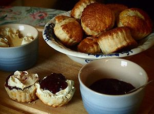 Hobbit Scones - On September 21st there will be a worldwide second breakfast party to celebrate the 75th anniversary of the release of The Hobbit.  Wherever you are, at 11am sharp on the 21st of September, have a second breakfast and join the hobbit celebration!