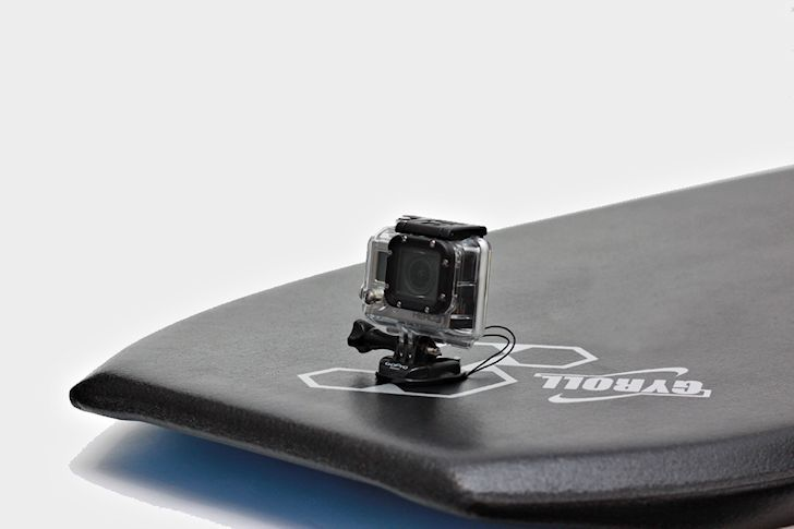 MS Pro Plug: the GoPro bodyboard mount by Science #bodyboard #sciencebodyboards #bodyboarding