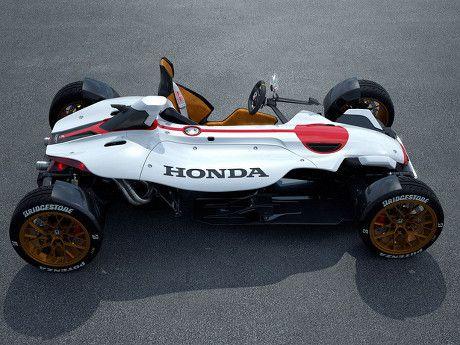Keren, Mobil Konsep Terbaru Honda yang Pakai Mesin Motor