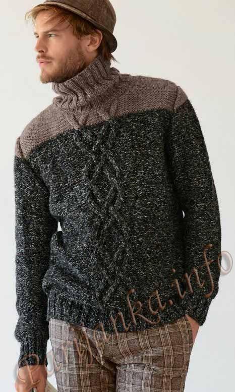 Пуловер (м) 728 Creations 2013/2014 Bergere de France №3733