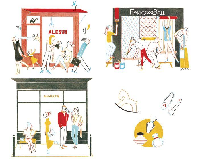 Federica Del Proposto / I LOVE DRAWING FOR / ELLE PARIS