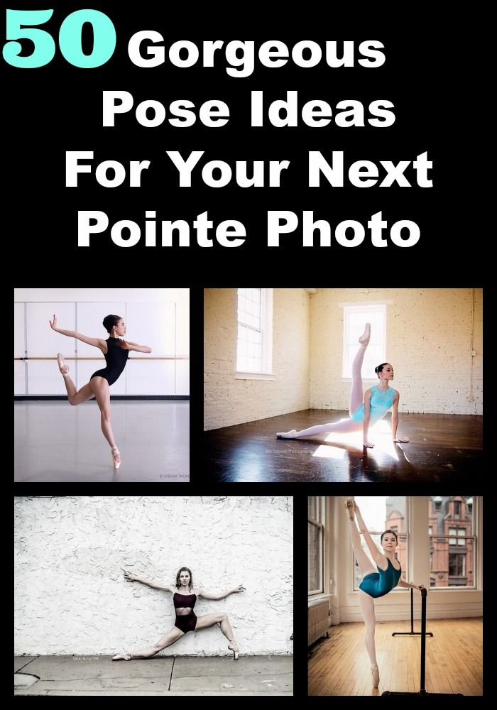 Gorgeous pose ideas for your next pointe photo... #ballet