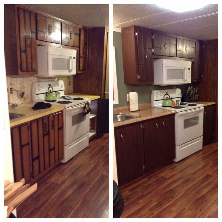 Rustoleum Kitchen Cabinet: Rustoleum Cabinet Transformations In Cocoa.