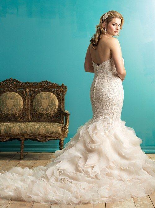25 best wedding dresses images on Pinterest   Wedding dressses, Gown ...