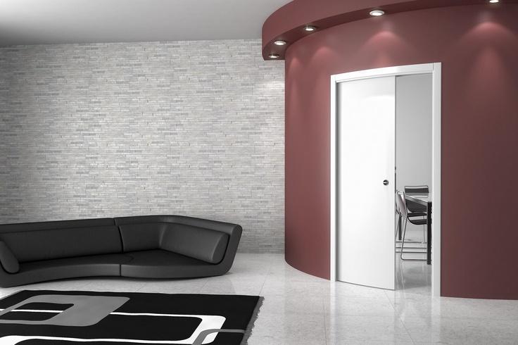 Per ambienti armoniosi, con pareti curve...Arkimede di Ermetika!
