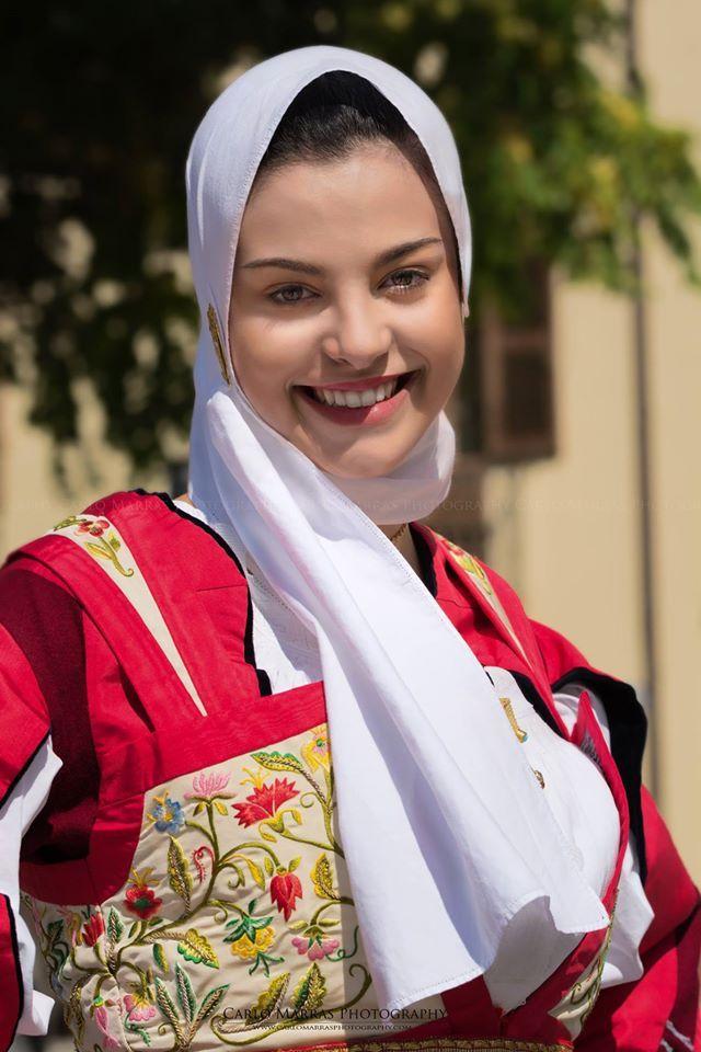 Sardinian woman