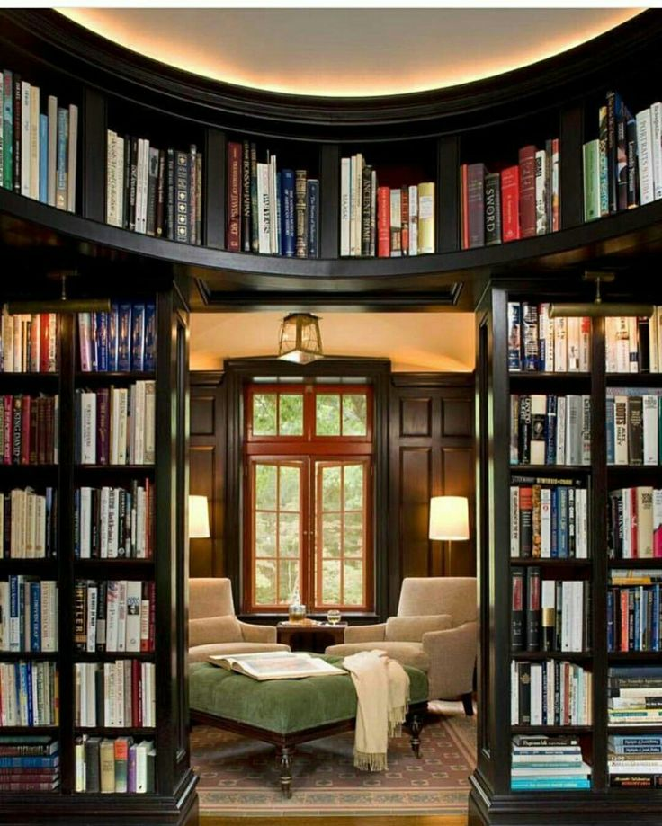 Here are 59 home libraries perfect for