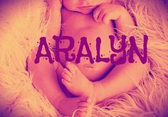 My unique baby girl name #unique #babygirl #girlname #Aralyn I think so much in this name and I love it. I love Aralyn Jade