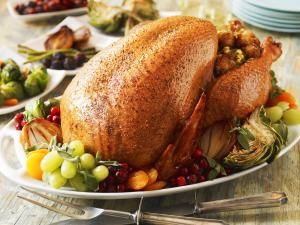 turkey recipes, roast, roasted, stuffed, poultry, recipes, receipts - © 2014 Jon Edwards/Getty Images, licensed to About.com, Inc.