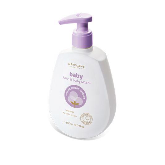 Gel Cabello y Cuerpo Baby (25282) Limpia suavemente la piel del bebé y su delicado cabello sin dañar los lípidos de su piel. pH neutro.