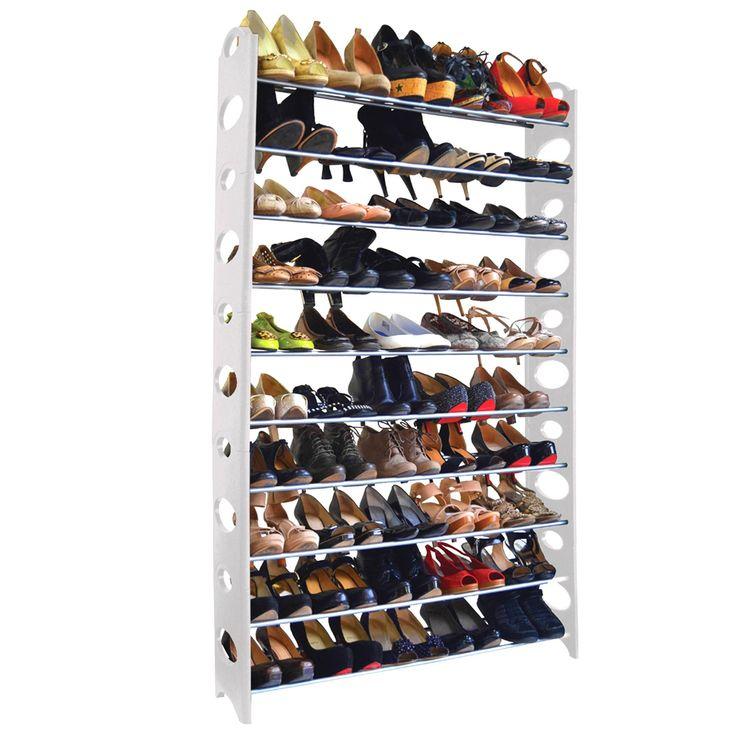 studio 707 50pair shoe rack overstock shopping great deals on closet storage