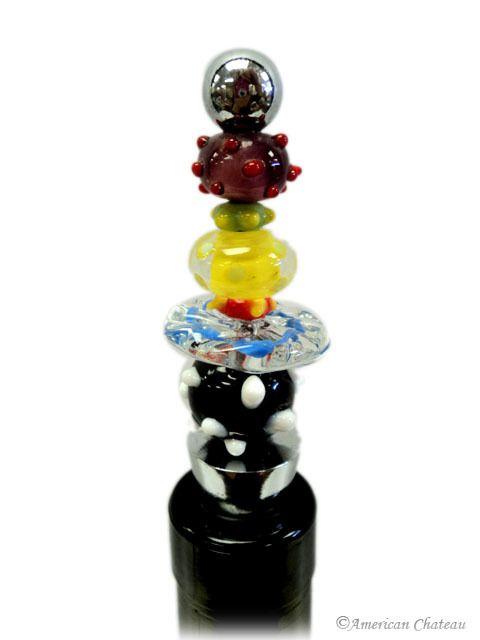 American Chateau - Murano Art Glass Multi-Layer Blown Wine Bottle Stopper ET4ND053, C$9.12 (http://www.americanchateau.com/Murano-Art-Glass-Multi-Layer-Blown-Wine-Bottle-Stopper-ET4ND053/)